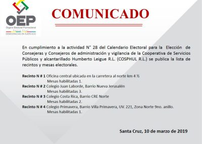 Ubicacion_Recintos_COSPHUL_2019