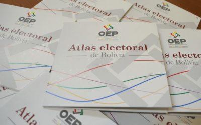 El TSE publica Atlas estadístico con datos de 45 procesos electorales y referendarios en Bolivia entre 1979 y 2016