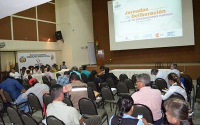 Presidente del TED Santa Cruz, Eulogio Núñez: queremos construir una Ley de Organizaciones Políticas de forma plural y participativa