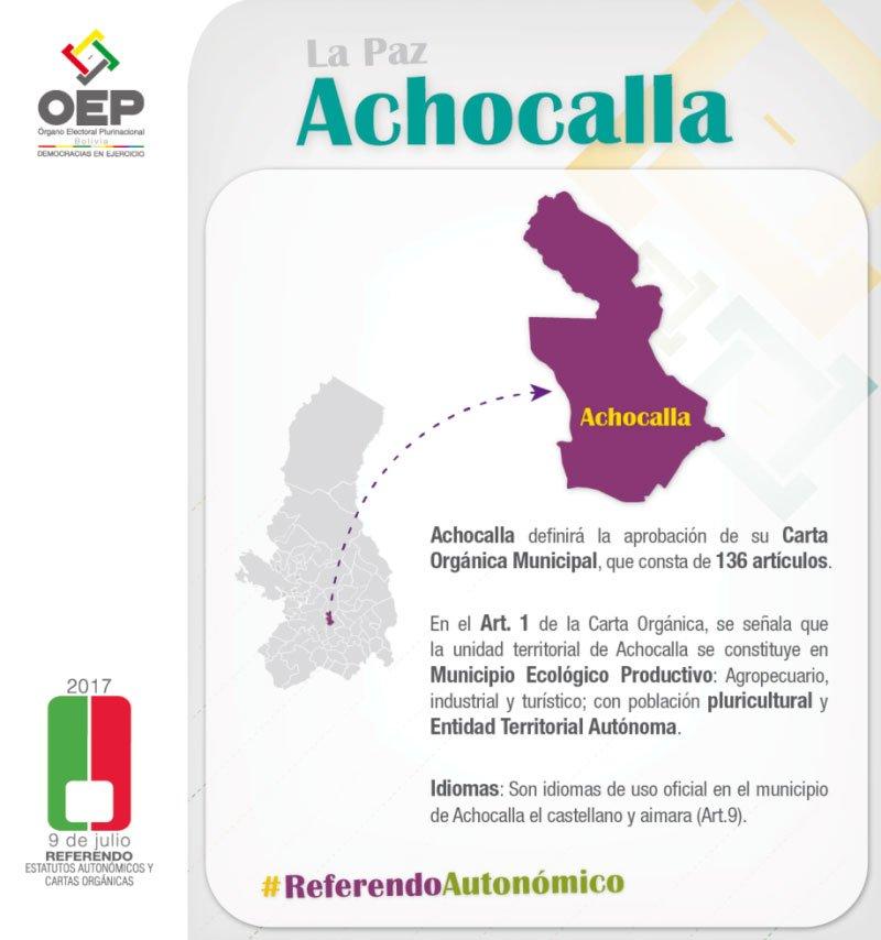 achocalla