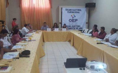 Beni: Piden dirigir más esfuerzos para llegar con la difusión de méritos de los postulantes al Órgano Judicial en el área rural