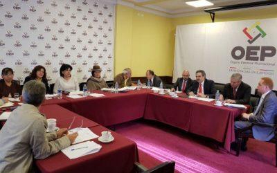 Equipo técnico de la OEA inicia la auditoría al padrón electoral