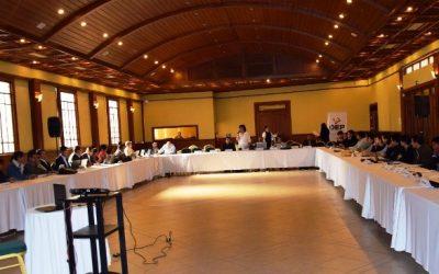 El TSE socializa los lineamientos estratégicos con los nueve Tribunales Departamentales