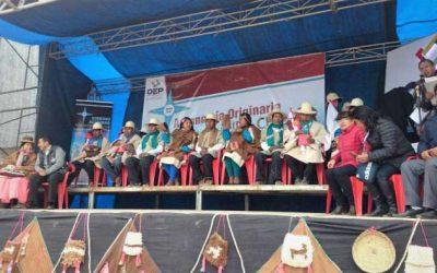 Las autoridades de Uru Chipaya asumen funciones en su primer gobierno indígena