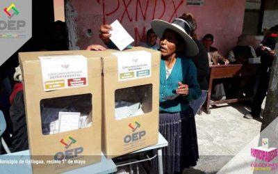 Bolivia vivió la segunda elección de autoridades judiciales en una jornada tranquila y de masiva participación
