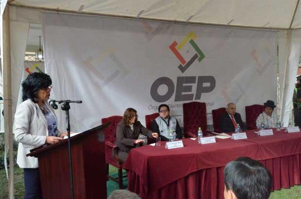 3D: el TSE inaugura la jornada electoral