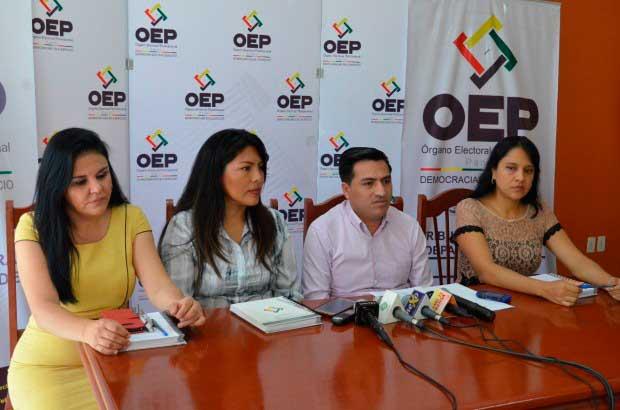 El TED Pando entregó los formatos de libros de adhesión para la revocatoria de mandato de seis concejales de Cobija