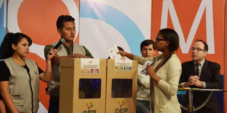 Elecciones Judiciales: el OEP emitirá los resultados preliminares durante la misma jornada