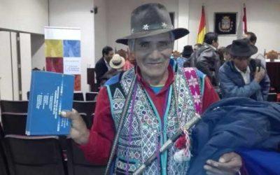 Realizan taller en idioma quechua sobre los derechos colectivos de las naciones y pueblos indígenas