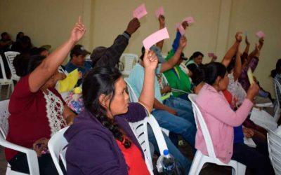 Gutiérrez aprueba su proyecto de Estatuto Autonómico Indígena y perfila su denominación a Kereimba Iyaambae