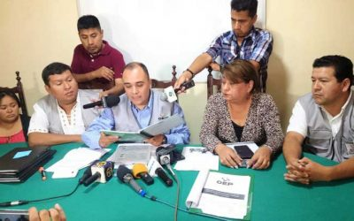 El TED Tarija archiva las revocatorias para Vallejos y Cardozo por errores en la presentación de libros