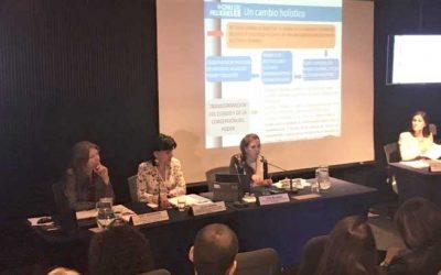 La Presidenta del TSE comparte en la CEPAL los avances sobre la participación de la mujer en espacios políticos en Bolivia