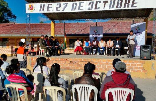 Más de 11 mil personas elegirán este domingo al nuevo alcalde de Cotagaita