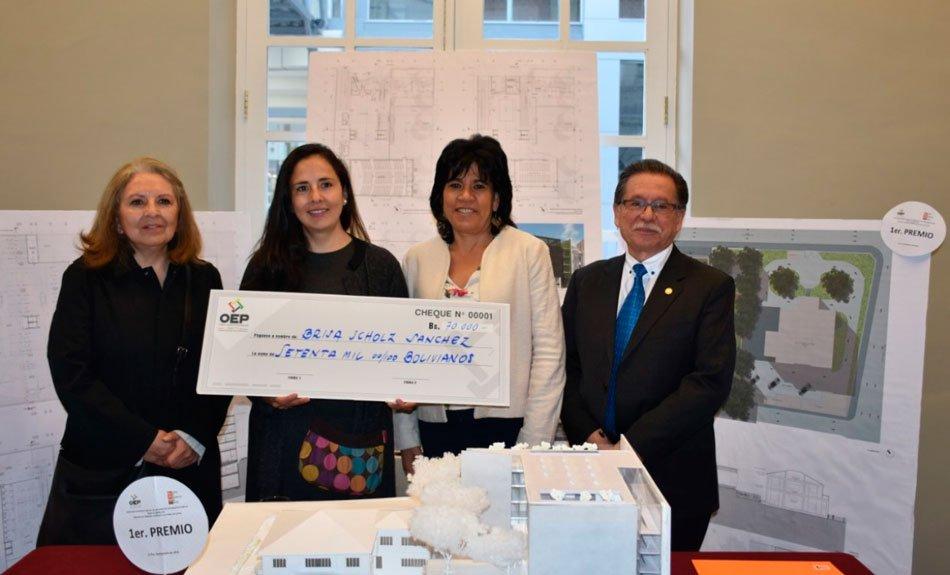 El TSE premió al anteproyecto de diseño arquitectónico del edificio de la entidad electoral