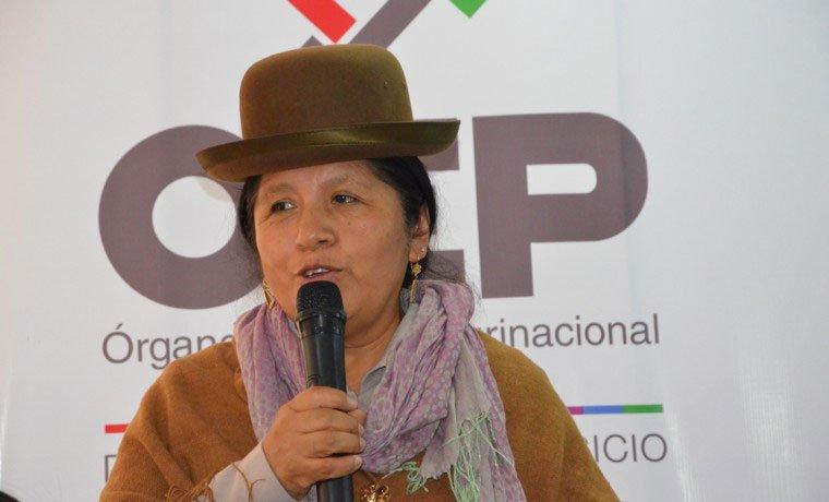 La vocal María Eugenia Choque asume la presidencia del TSE y Antonio Costas la vicepresidencia