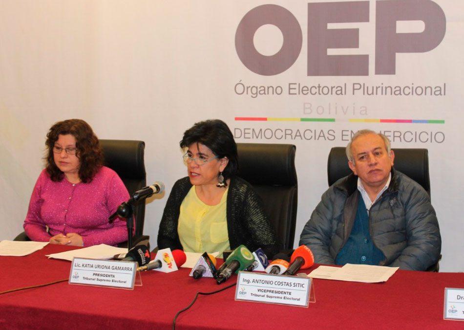 Disidencias en el Reglamento de Elecciones Primarias