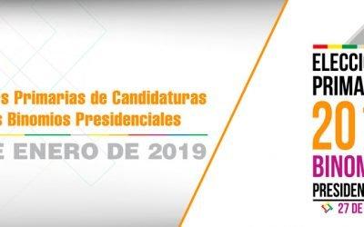 Características de las Elecciones Primarias 2019