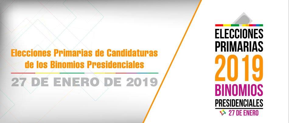 Hasta las 23:59 del martes las organizaciones políticas deben presentar la solicitud de registro de alianzas para las Elecciones Primarias 2019