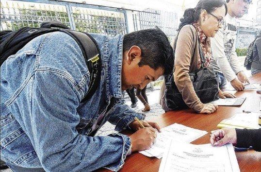 Amplían hasta el 5 de diciembre el plazo para presentar los formularios de renuncia, anulación o restitución de militancia