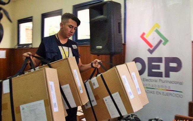 Este domingo, el TSE inaugurará en La Paz la jornada del quinto Referendo Autonómico en el país