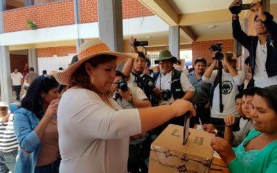 El TSE habilita 5.301 recintos electorales en Bolivia y en el exterior para las Elecciones Generales