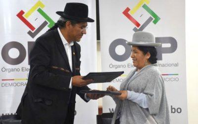 TSE y Cancillería firman adenda de ratificación del convenio para empadronamiento permanente de bolivianos en el exterior