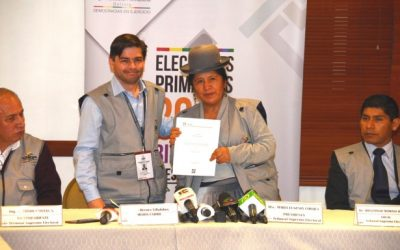 Uniore destaca vocación democrática de las y los bolivianos