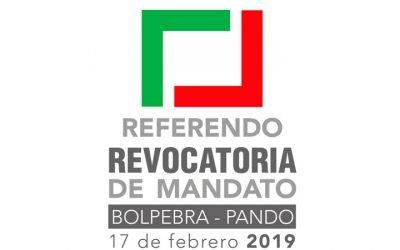 Cinco claves para entender el Referendo Revocatorio 2019 en Bolpebra – Pando