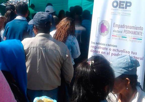 Argentina: empadronamiento de bolivianas y bolivianos llegó a Colonia Bombal Maipú