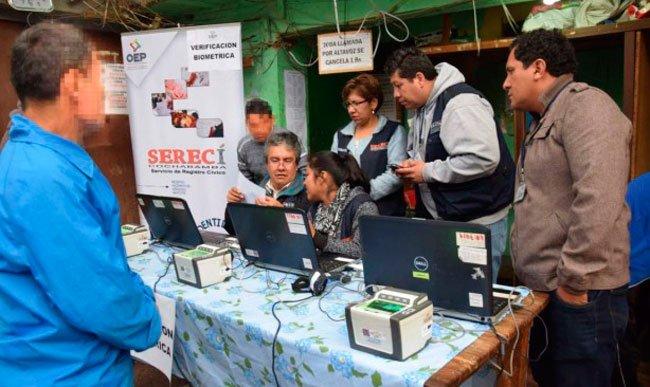 El Sereci realiza la verificación biométrica de privados de libertad en los centros penitenciarios
