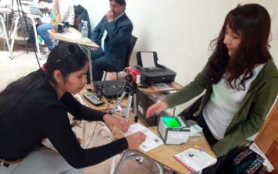 Chile: Martha Felix Camata votará por primera vez como ciudadana boliviana