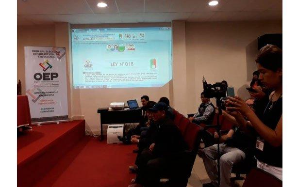 Referendo Autonómico: 2.268 personas administrarán la consulta en Chuquisaca, La Paz, Oruro, Potosí y Santa Cruz