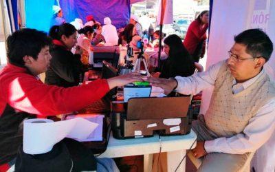 Elecciones Generales: en nueve días, el TSE registró a más de 105 mil personas en Bolivia y en el exterior