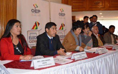 El TSE fija 98 actividades en el calendario para las Elecciones Generales del 20 de octubre