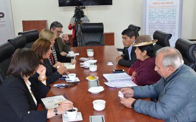 Elecciones Generales 2019: el TSE se reúne con la misión de observación de la Unión Europea