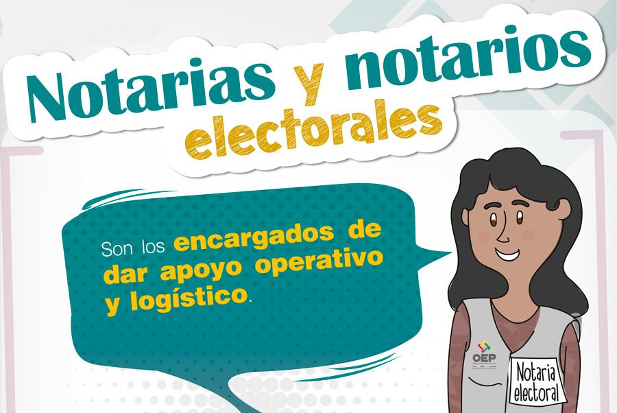 Más de 8.000 notarias y notarios darán fe de los actos electorales en las Elecciones Generales 2019