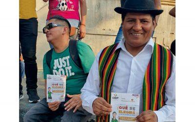 Elecciones Generales: socializan la naturaleza del proceso electoral con residentes bolivianos en Sao Paulo-Brasil