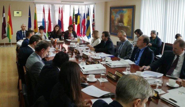El TSE se reúne con miembros del Grupo de Socios para el Desarrollo de Bolivia para ampliar información sobre las Elecciones Generales