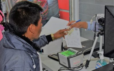 El empadronamiento electoral permanente continúa en cinco países del exterior
