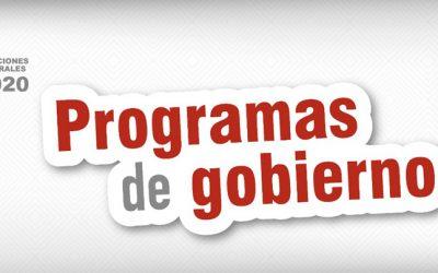 El TSE difunde los programas de gobierno de partidos y alianzas que participan en las Elecciones