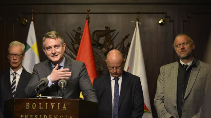 TSE y UE firman acuerdo para la observación de las Elecciones Generales 2020