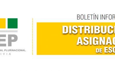 Todo sobre la distribución y asignación de escaños en boletín informativo del OEP