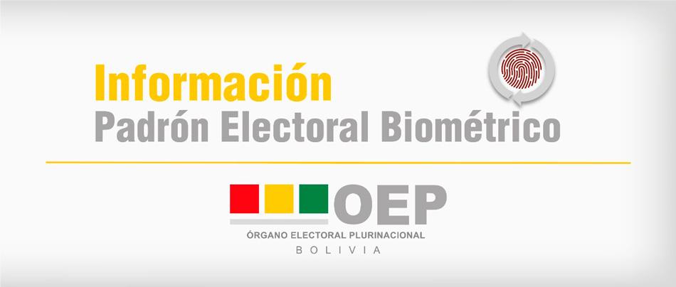 El TSE proporciona información del Padrón Electoral mediante el portal digital