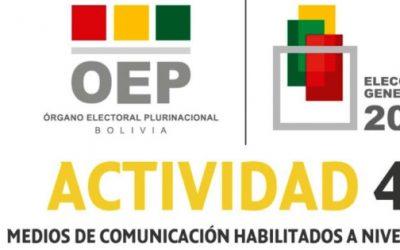 El TSE publica las listas de medios de comunicación habilitados para difundir propaganda electoral pagada