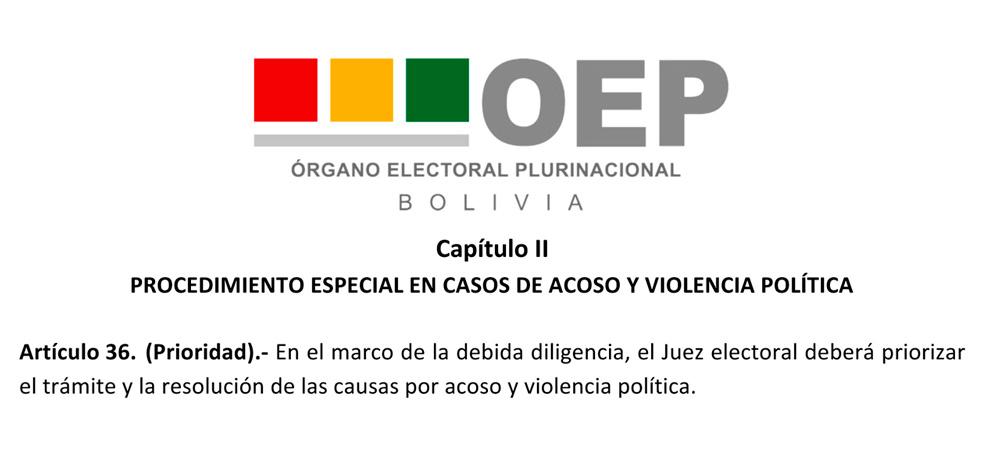 Jueces electorales podrán resolver casos de acoso político, sancionar y establecer medidas de protección y reparación a la víctima
