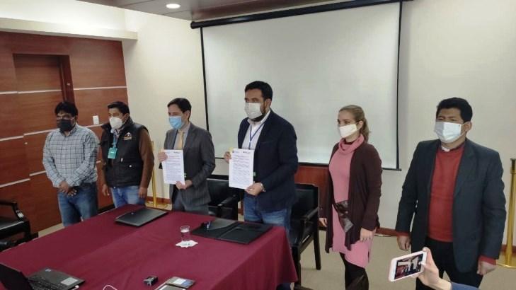 TSE y FAM Bolivia unen esfuerzos por la bioseguridad en las elecciones