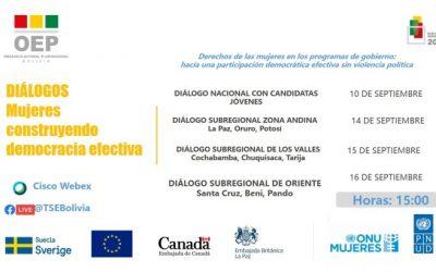 Inicia Ciclo de Diálogos para promover los derechos políticos de las mujeres