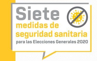 El TSE incrementa recintos electorales para fortalecer el distanciamiento social en la jornada de sufragio