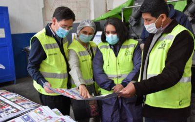 Inicia la impresión de las papeletas de sufragio para las Elecciones Generales