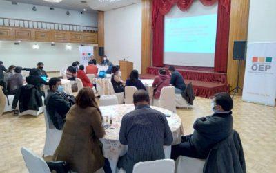 Responsables nacionales de capacitación del TSE preparan actividades con miras a las Elecciones Subnacionales 2021